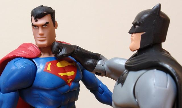 batman punches superman